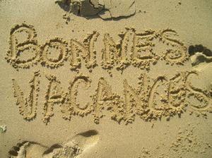 Bonnes vacances :-)