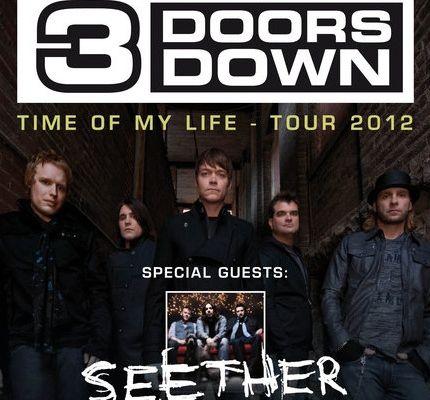 Concert – Seether + 3 Doors Down au Bataclan