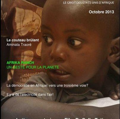Voix Africaine, Octobre 2013, n°1
