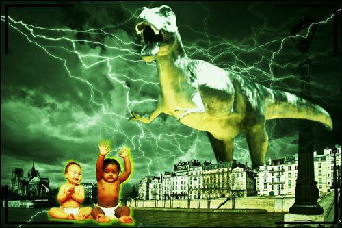 Dinosaurons chez Clo...