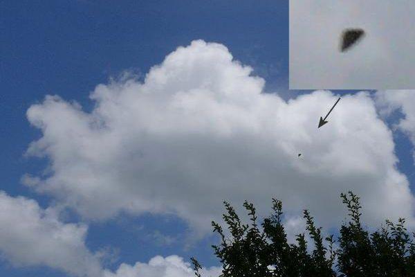 OVNI triangulaire sur le TEXAS,juin 2008.