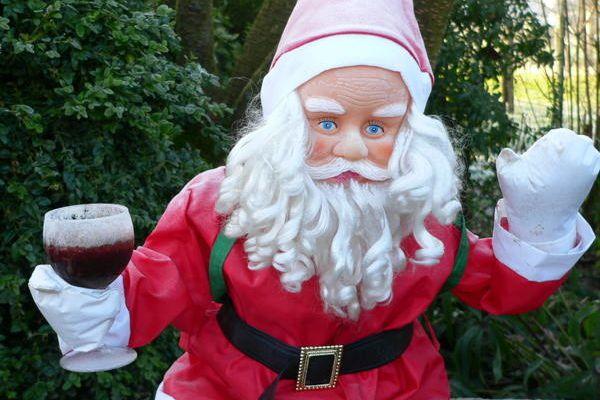 Le père Noël est épuisé