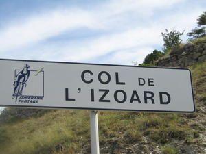 COL DE L'IZOARD : CA, C'EST FAIT.