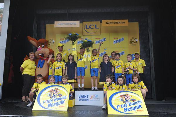 Chloé Prioux sur le Tour de France 2012