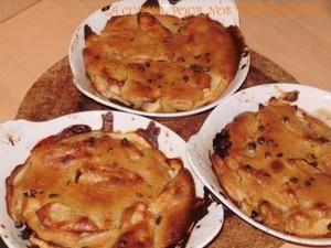 cassolettes de pommes en croûte d'amandes