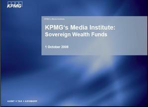 Etude KPMG : Fonds souverains - les nouveaux investisseurs