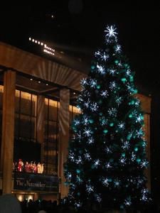 Lincoln Center Tree Lighting