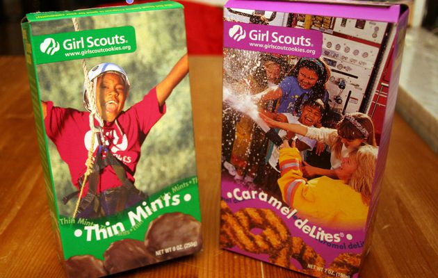 Girl Scout cookies, toute une tradition