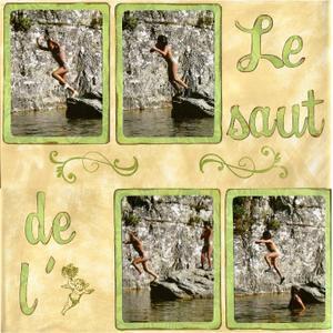 Le saut de l'ange ................