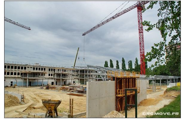 Rénovation du Lycée Marcel Sembat : Nouvelle étape...
