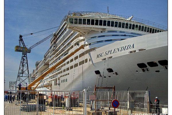 Les chantiers navals de St Nazaire