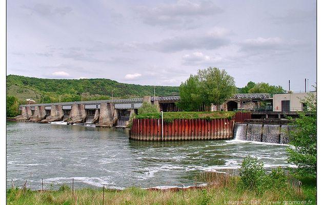 Barrage et écluses de Poses-Amfreville