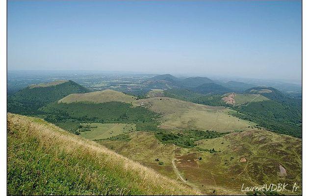Auvergne (4/19) : Au sommet du Puy de Dôme...