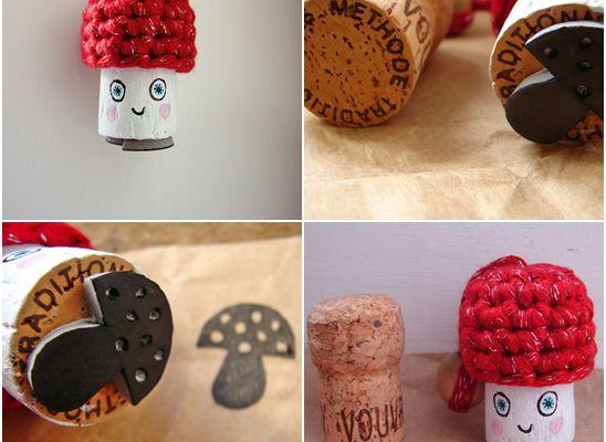 Serial Crocheteuses N°137 : Bouchon De Champagne
