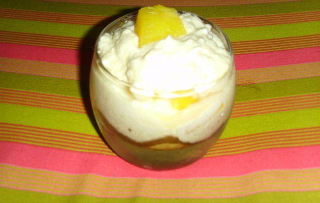 Verine de tiramisu ananas/coco