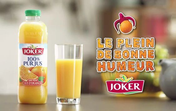 Surprise : Joker re-change de slogan !