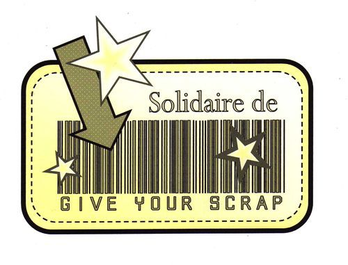 "Give Your Scrap & le Challenge ""Action contre la faim"""