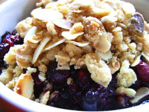 Crumble aux Fruits Rouges - Ultra Rapide
