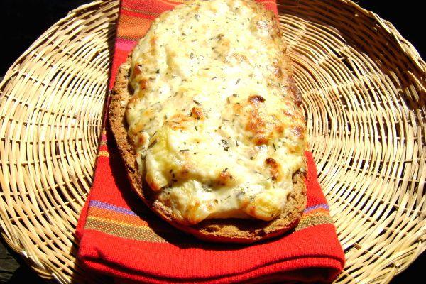 Tartines de Courgette aux Fromages