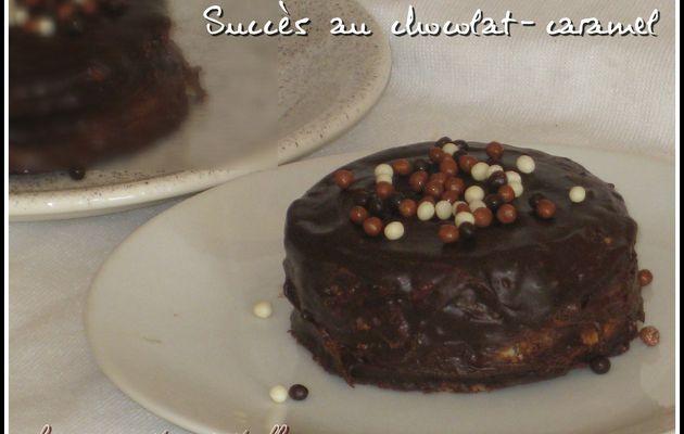 Succès au chocolat caramel