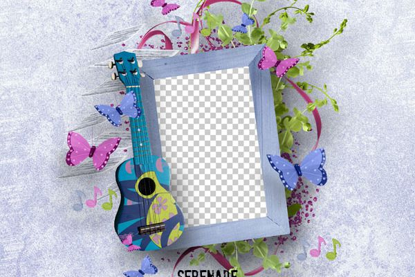 Serenade : FREEBIE ** GRATUIT ** NEW ** Digiscrap *** Simplette scrap and design