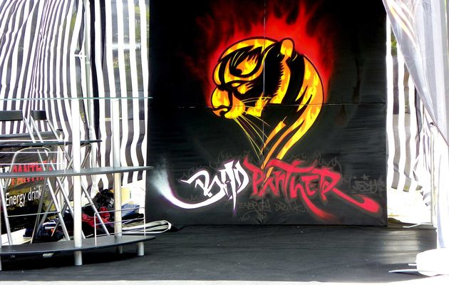 Toile Badpanther