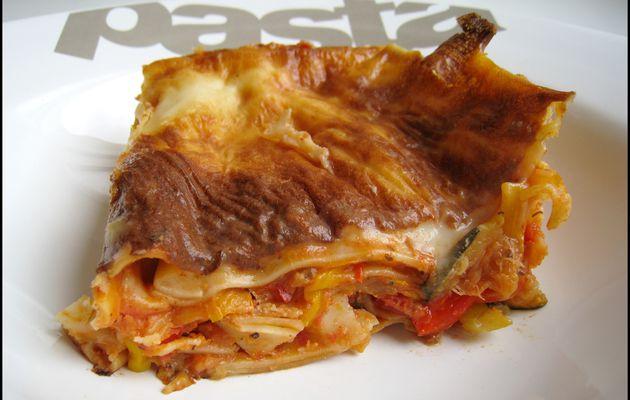 Lasagnes aux légumes et au chèvre