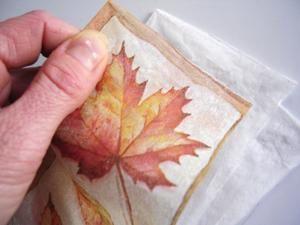 Comment séparer plus facilement les couches d'une serviette..