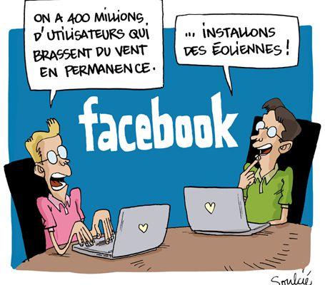 Humour : les déconvenues de Facebook !
