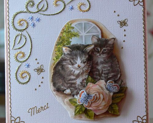 Deux petits chatons...
