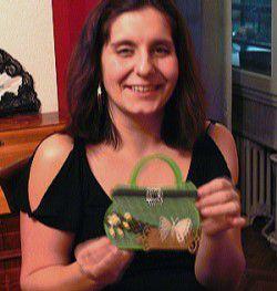 Ateliers janvier et mars 2012 - Cartes en forme de... sac à main