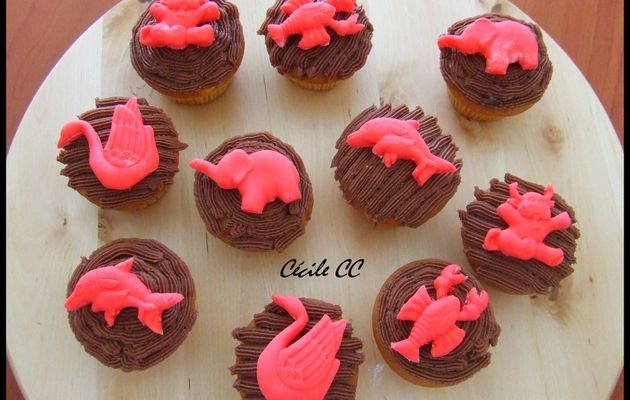 Cupcakes pomme-cannelle...