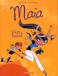 Maïa en Turquie, une BD de Brigitte Luciani et de Colonel Moutarde