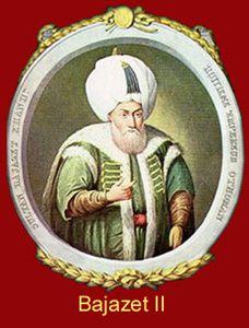 Couleurs historiques,Bajazet II, 8 ème sultan ottoman