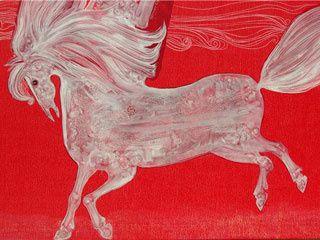 Des chevaux aux couleurs turques,Süleyman Saim TEKCAN.