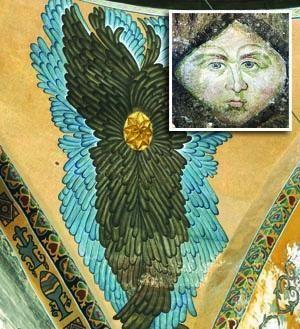 Un nouvel ange à İstanbul : Sainte Sophie, des ailes turquoises.