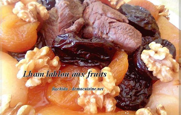 Lhamlahlou aux fruits et noix