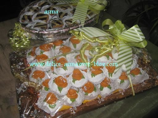 Des gâteaux offert pour une mariée
