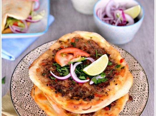 Lahmacun, {la presque} pizza turque
