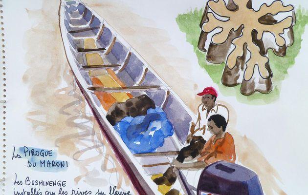 la pirogue guyanaise, toute une culture
