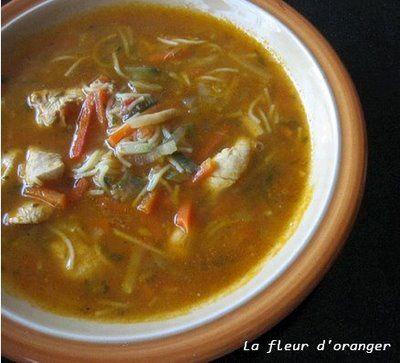Chorba : Soupe aux légumes