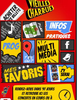 Applis: Android & Iphone / Vieilles Charrues 2012