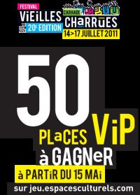 50 places Vip a gagner, avec Edouard.