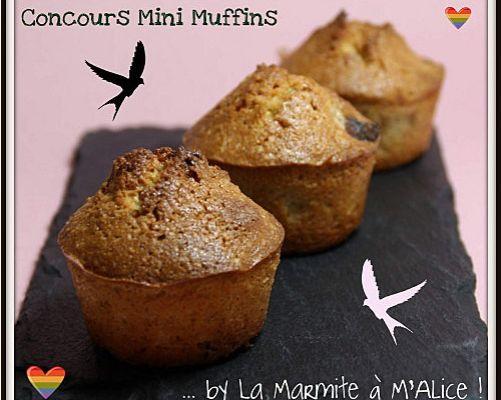 Muffins sucrés et muffins salés pour la marmite à M'alice