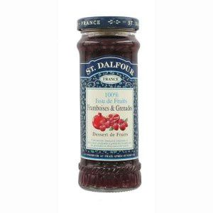 yaourts confiture framboises,grenades