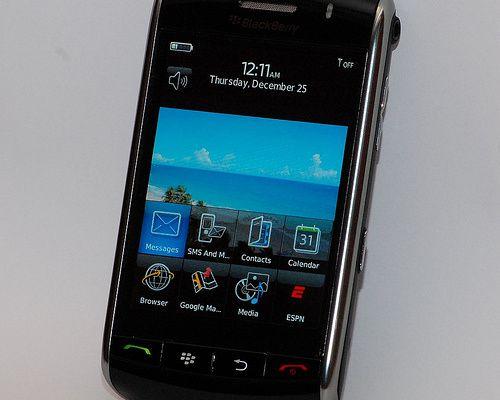 Un Blackberry tout tactile