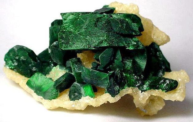 Malachite-Azurite-Smithsonite amplifiée d'énergie OR et Arc en ciel