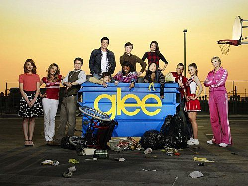 Mais que trouve-t-on à la série Glee ?
