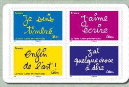 "Une nouvelle collection de timbres ""Ben"""