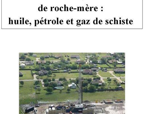 Dossier explicatif sur l'extraction des hydrocarbure de la roche-mère